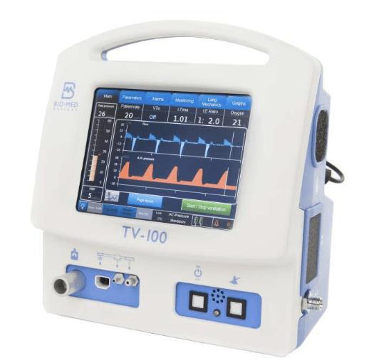 Bio-Med Devices TV-100 Ventilator